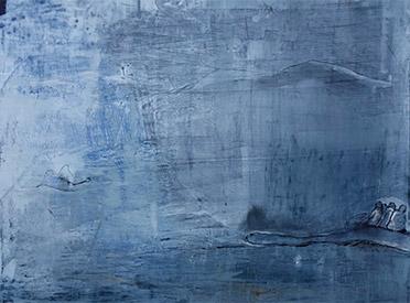 Julia Avramidis OKEANOS 2017 100x120cm Öl auf Leinwand
