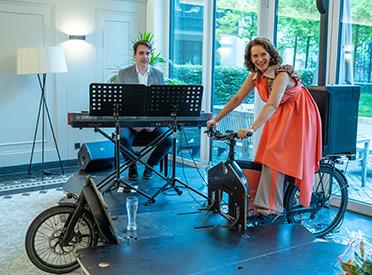 Privates VeloConcert mit Maya Hakvoort